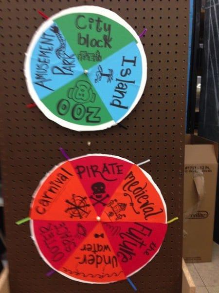 Create a Place 'Randomizer' wheel example