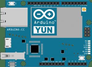 Arduino Yun board layout diagram